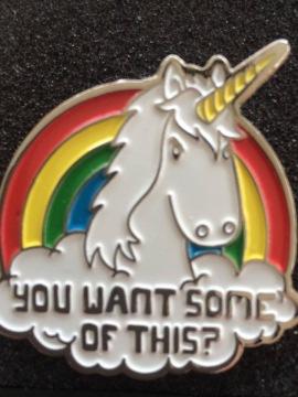 Unicorn with attitude